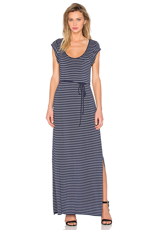 Karlie Striped Maxi Dress