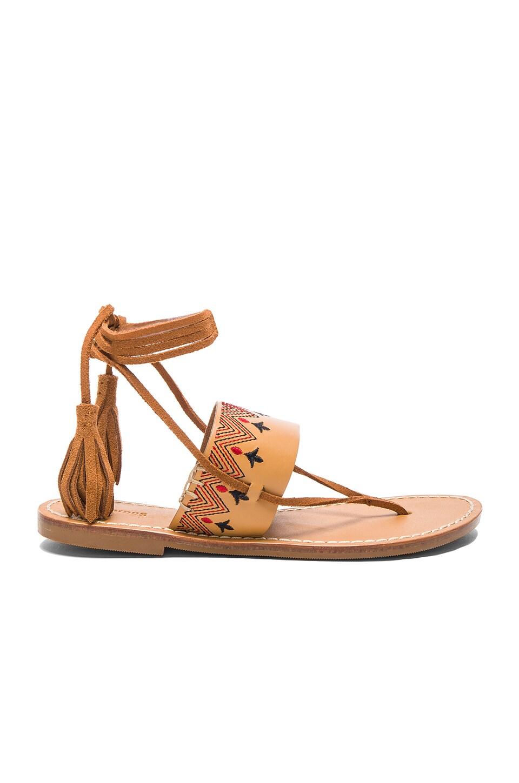 Flat Lace Up Sandal