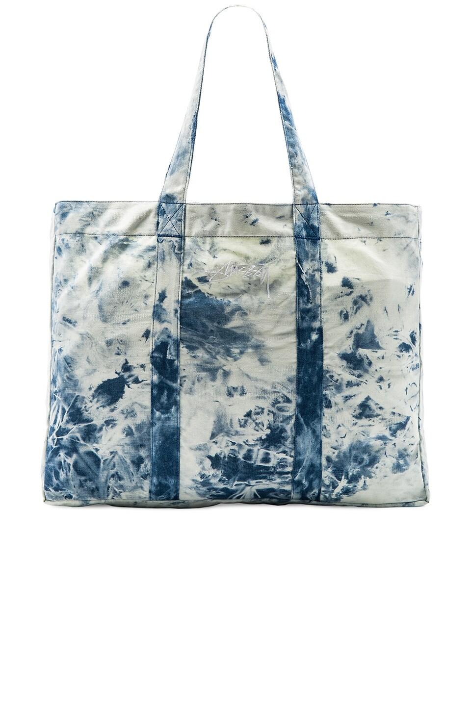 Acid Wash Beach Tote Bag