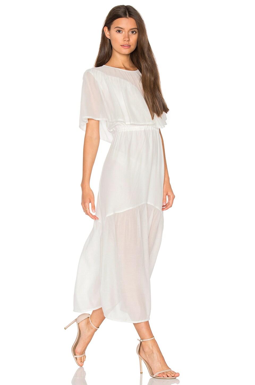 Shaee Cape Maxi Dress