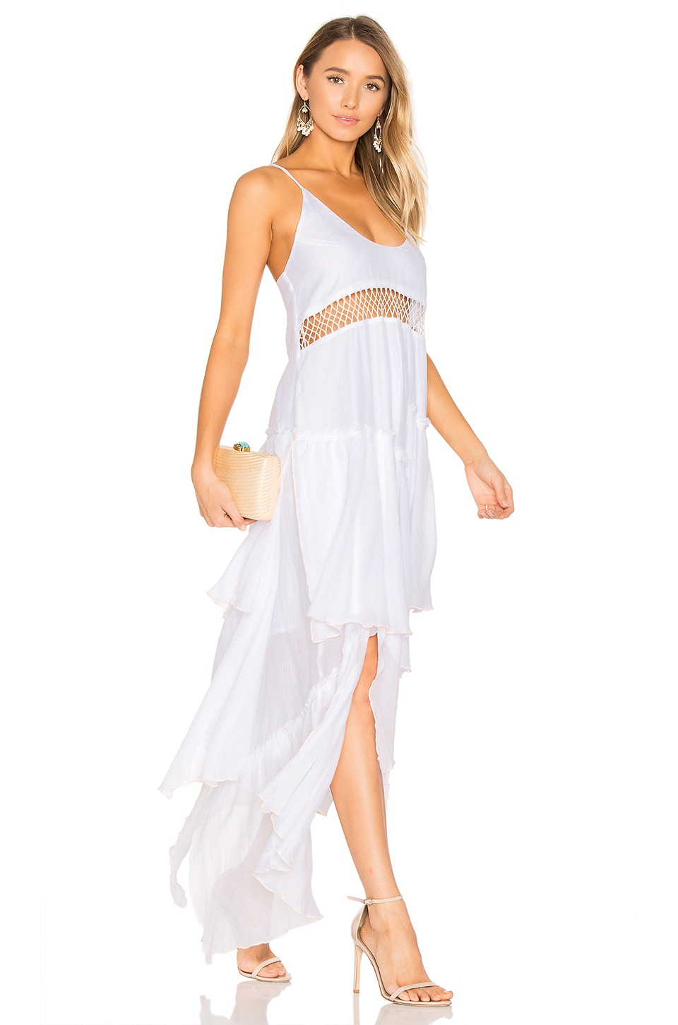 Closer Frill Maxi Dress