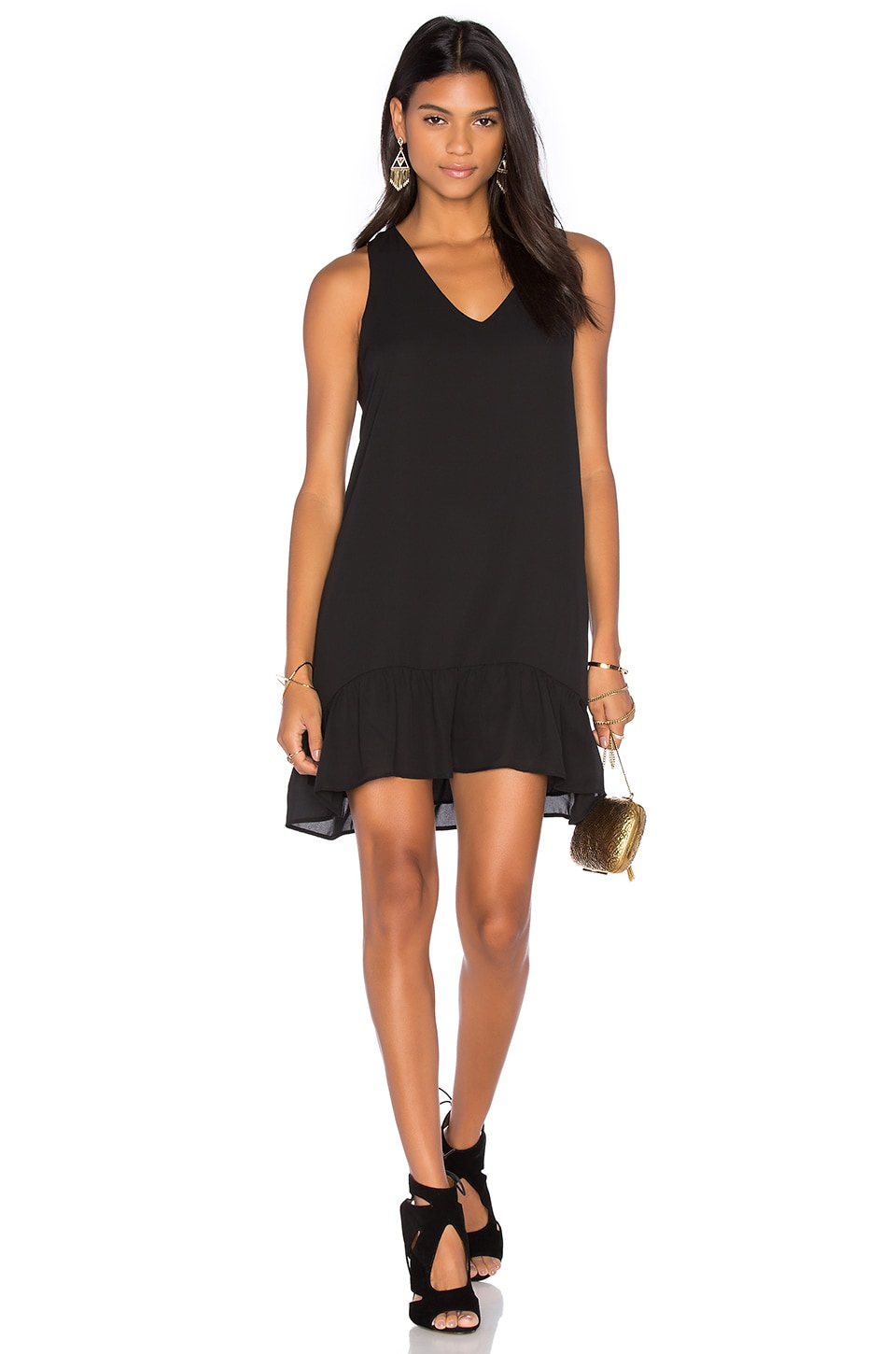 Aiken Ruffle Tank Dress