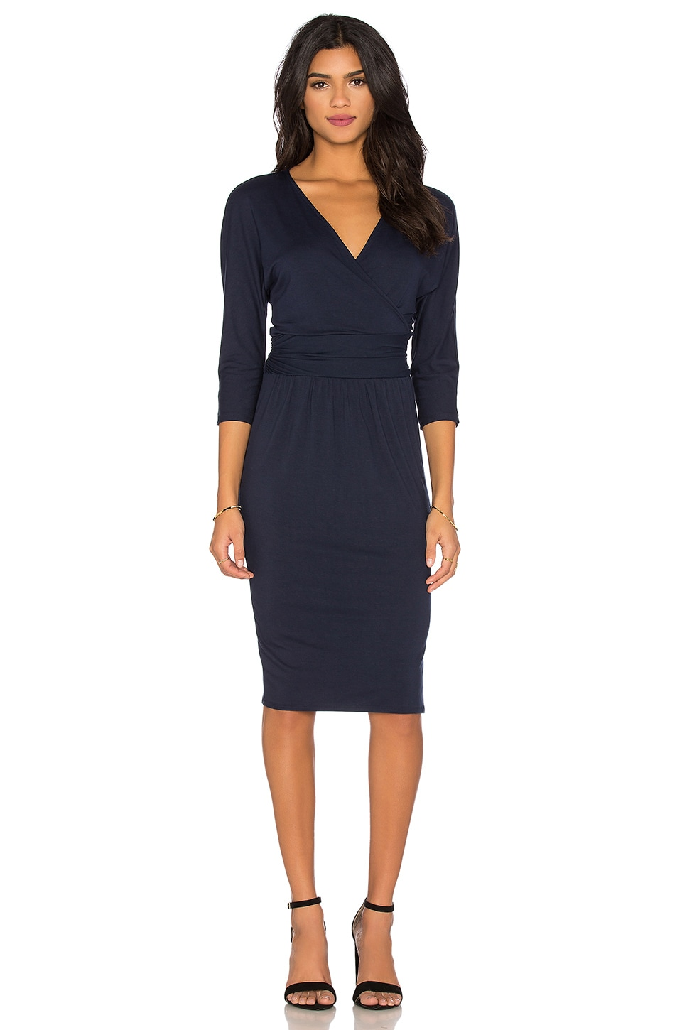 Grete Wrap Dress
