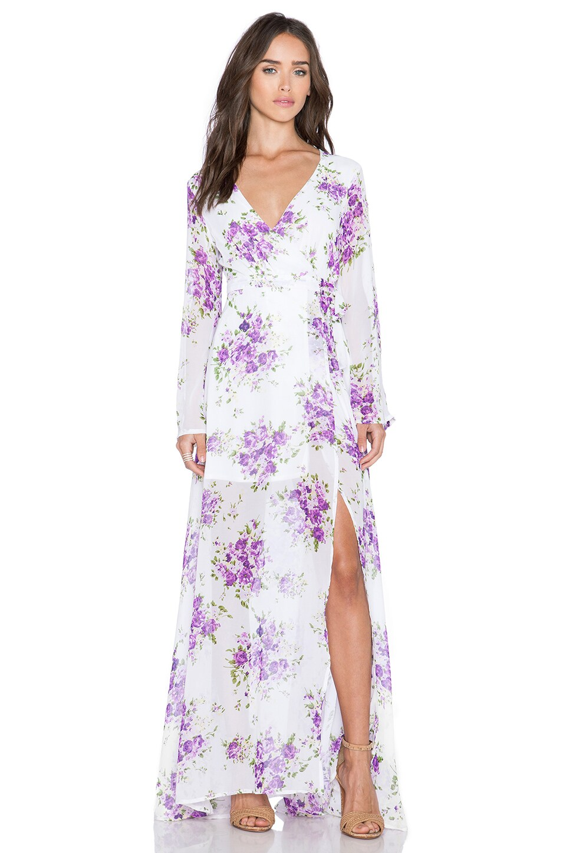 Sweet Floral Maxi Dress