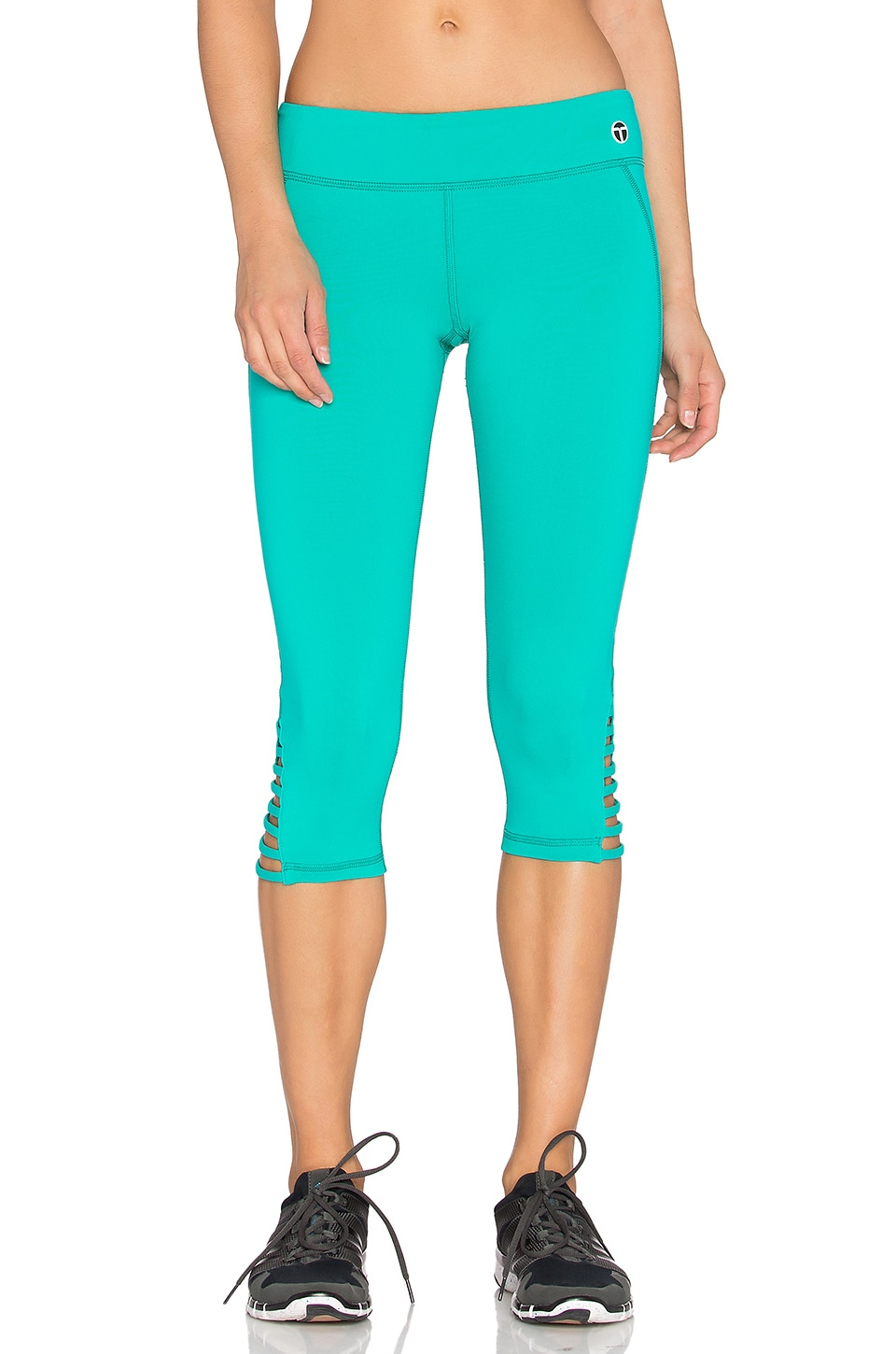 Strapped Solids Mid Length Leggings