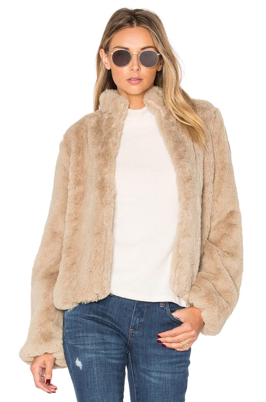 x REVOLVE Inori Faux Fur Jacket