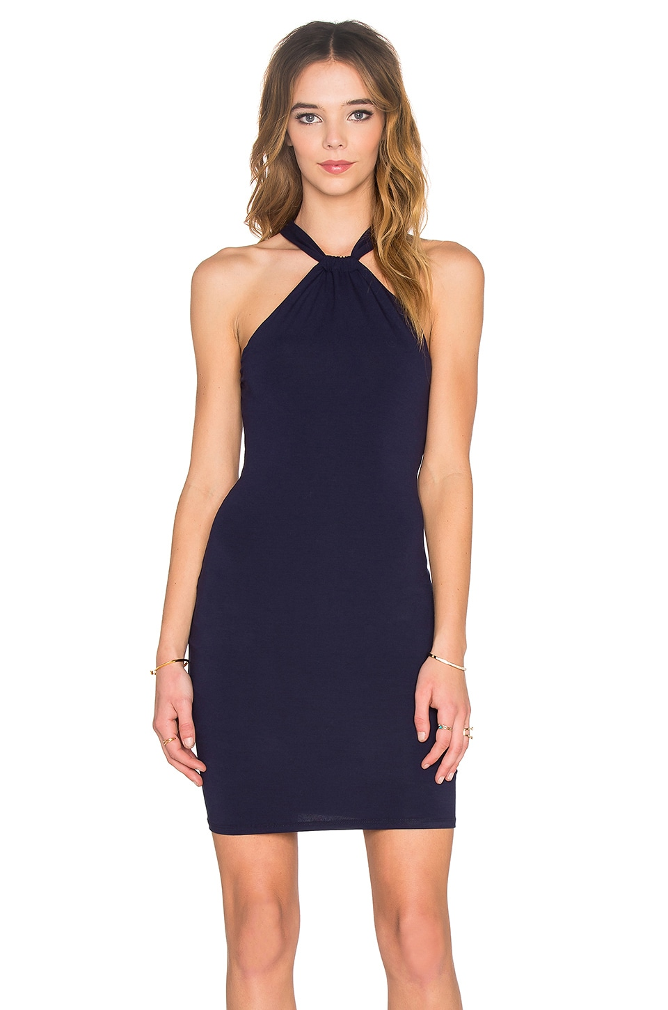 Halter Neck Mini Dress