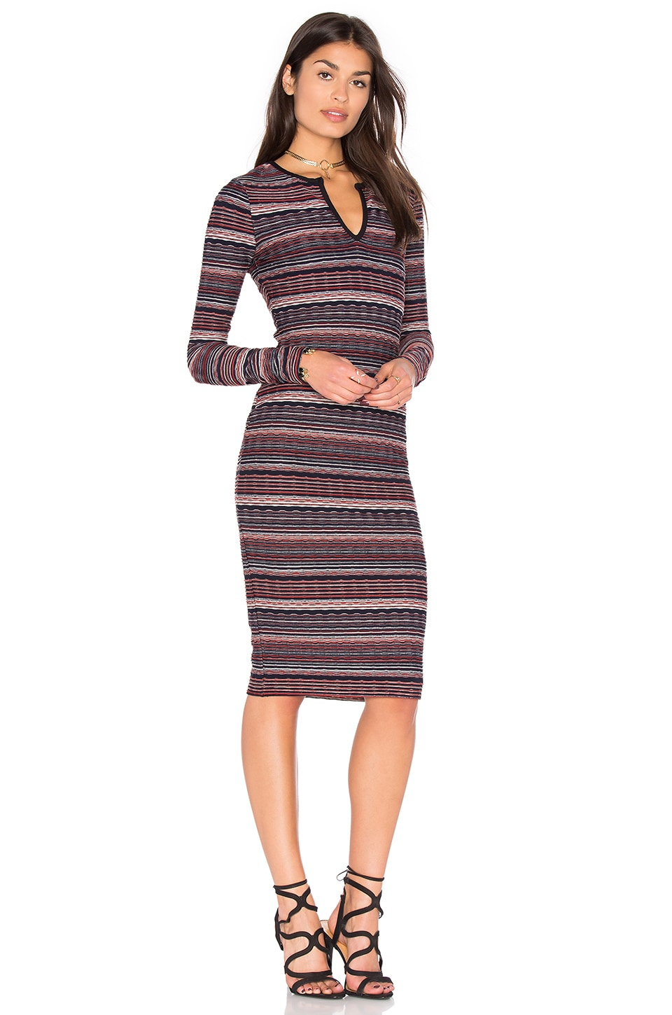 Division Stripe Dress