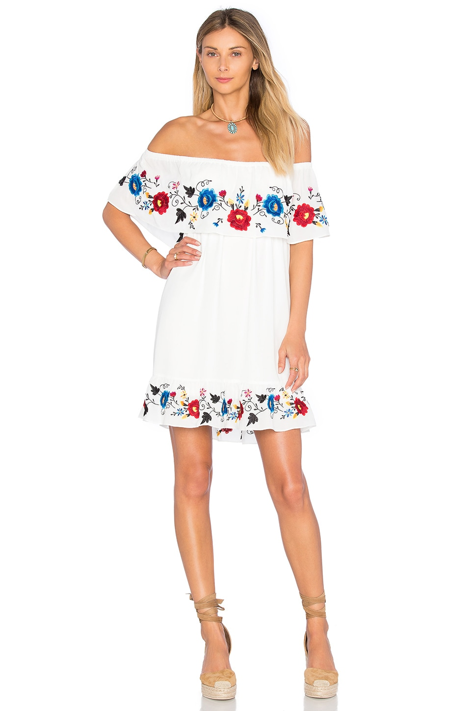 Kamari Off Shoulder Dress