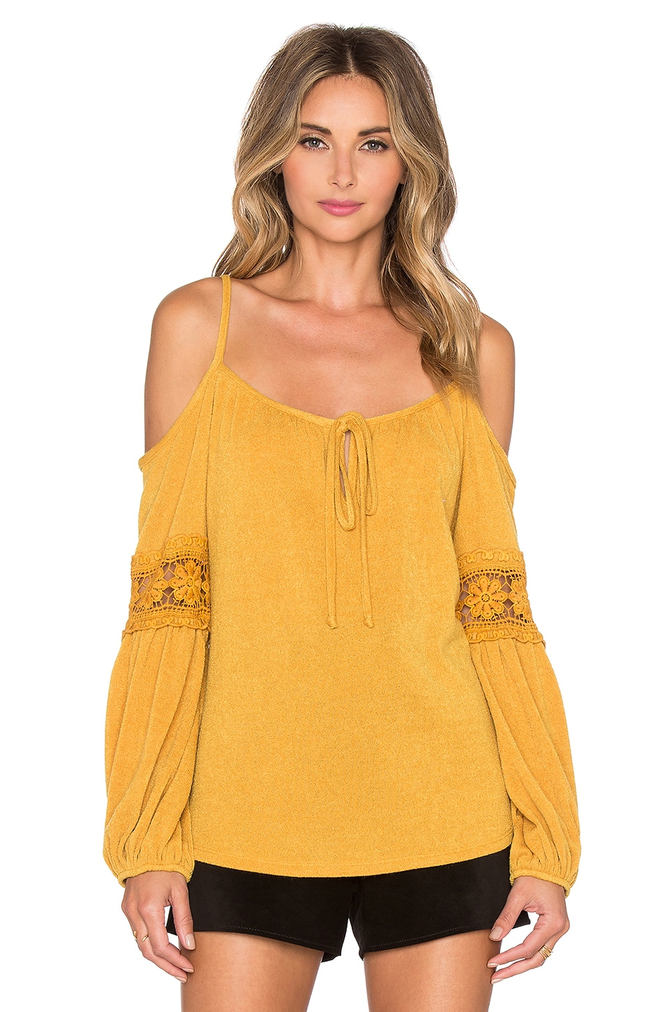 Joanne Open Shoulder Top