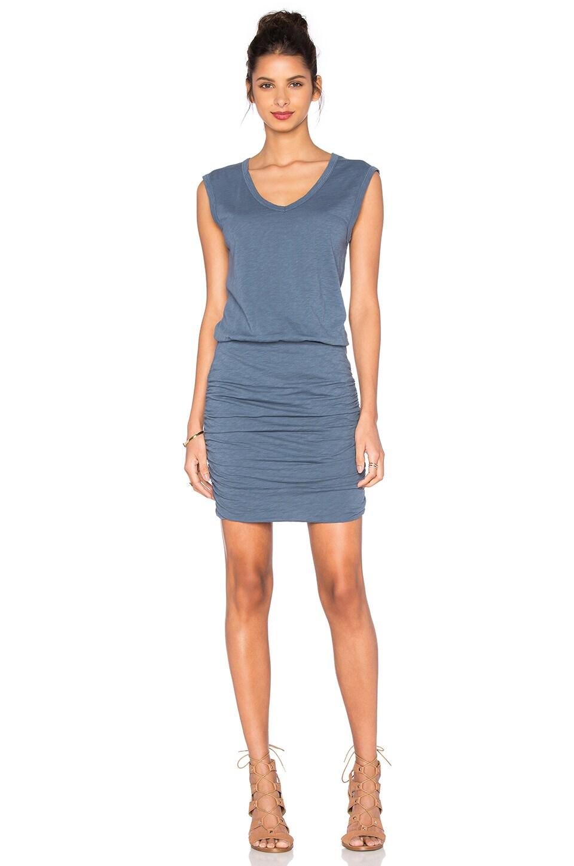 Bardot Cotton Slub Mini Dress