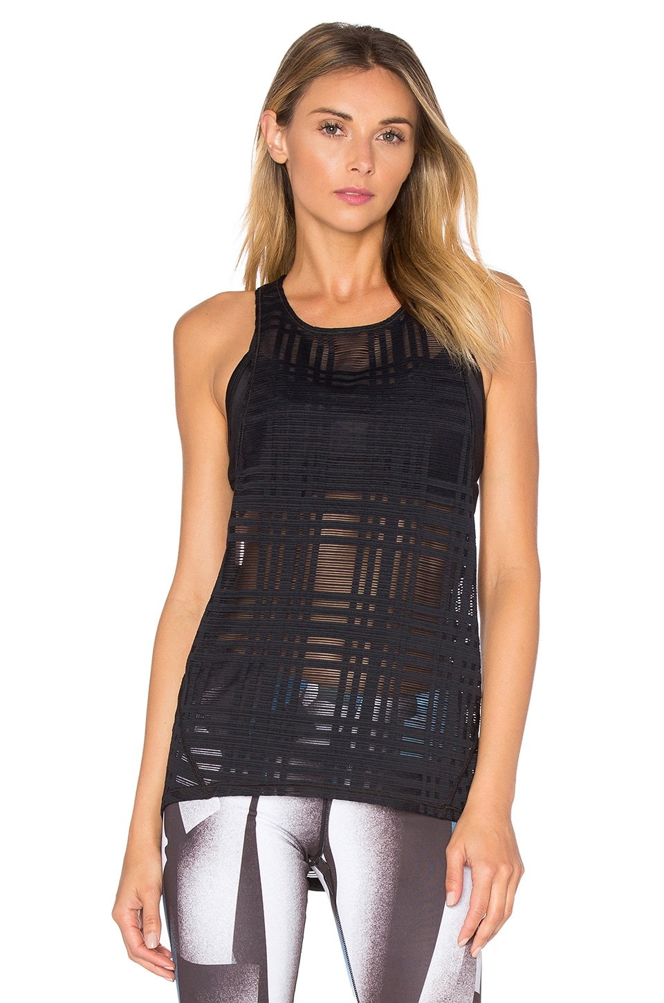 Plaid Dash Tank
