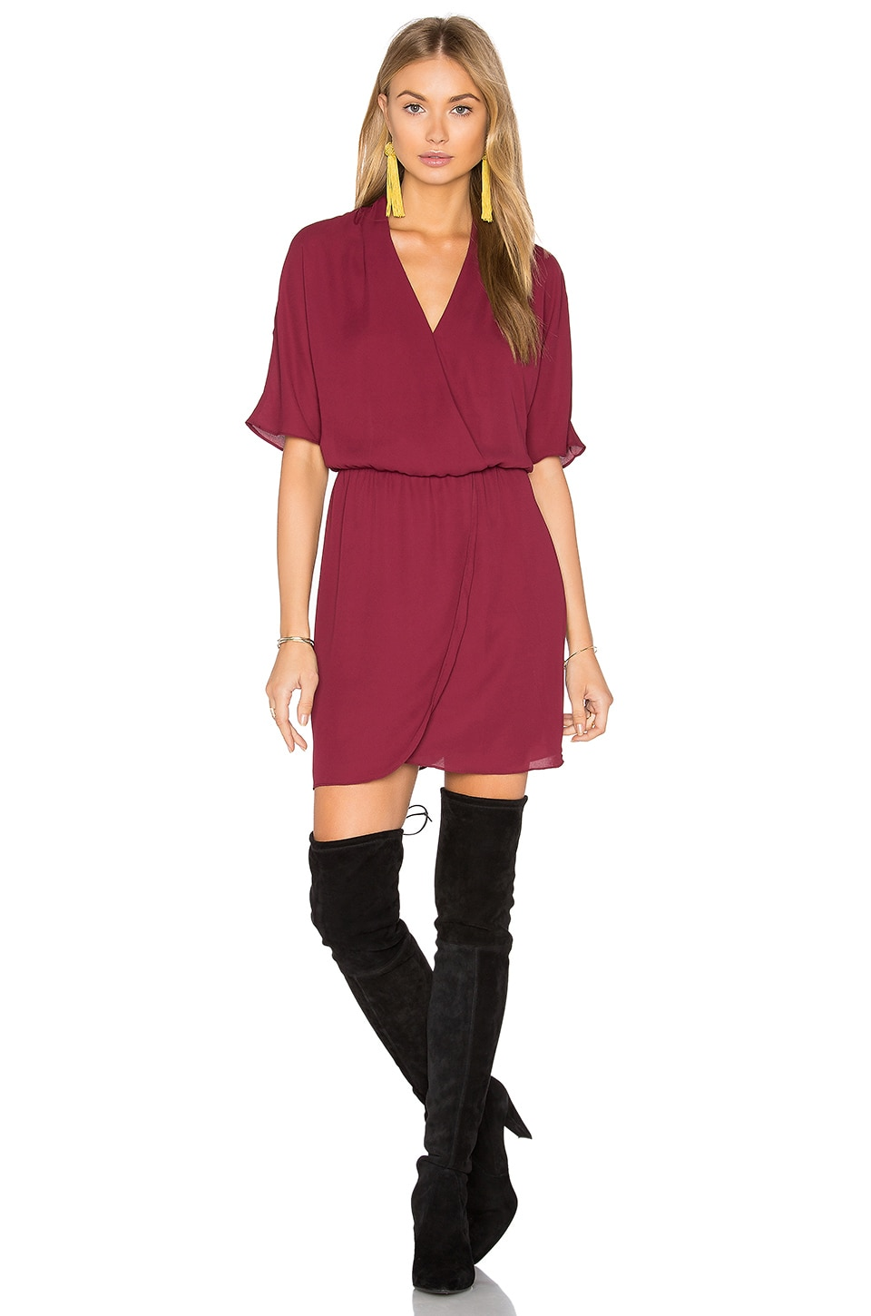 Sutherland Dolman Wrap Dress