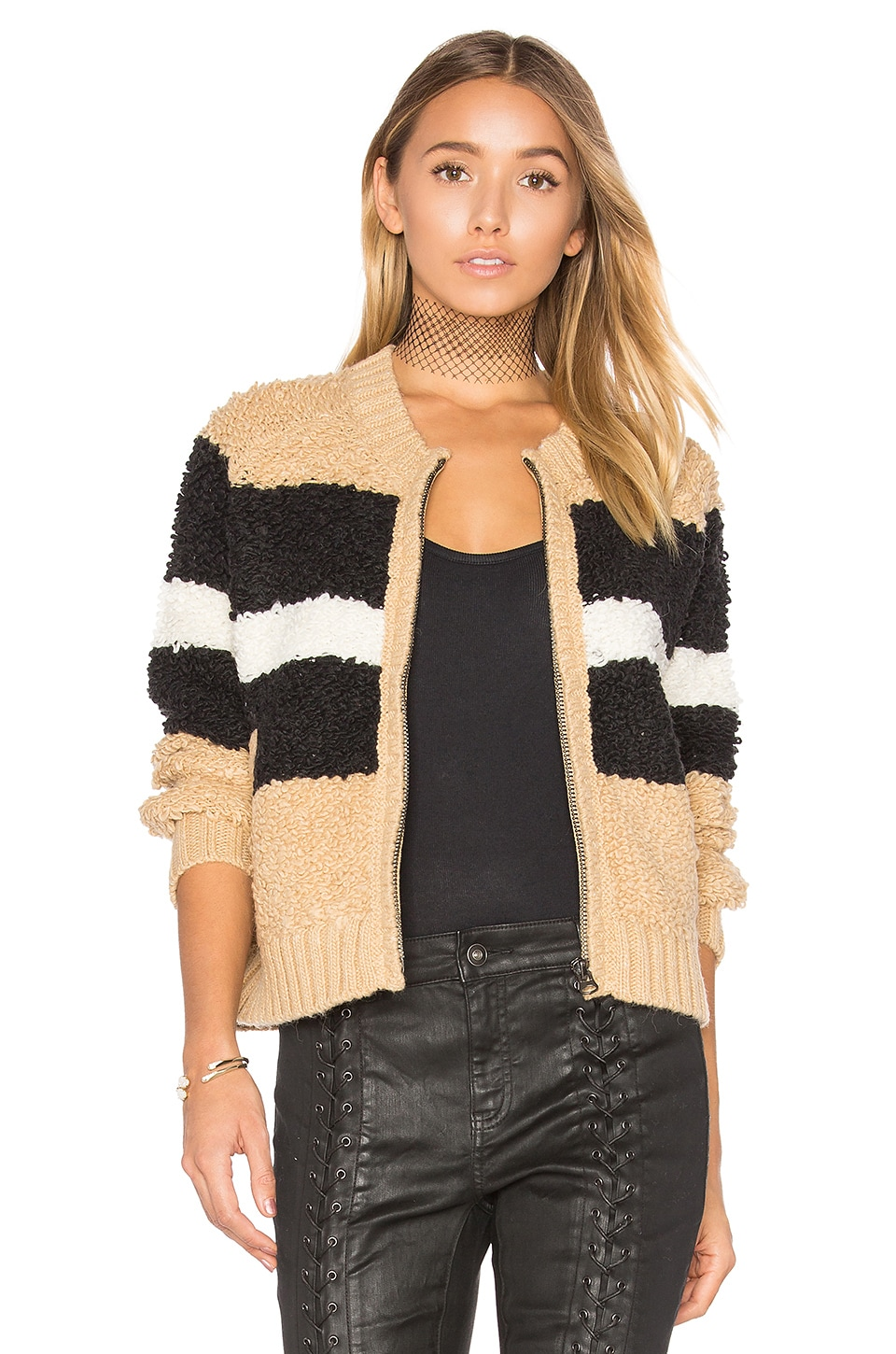 Disco Stripe Margot Sweater