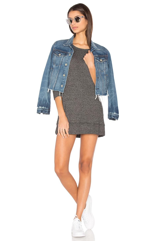 Sweatshirt Mini Dress