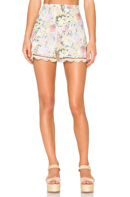 Valour Hydrangea Flare Shorts