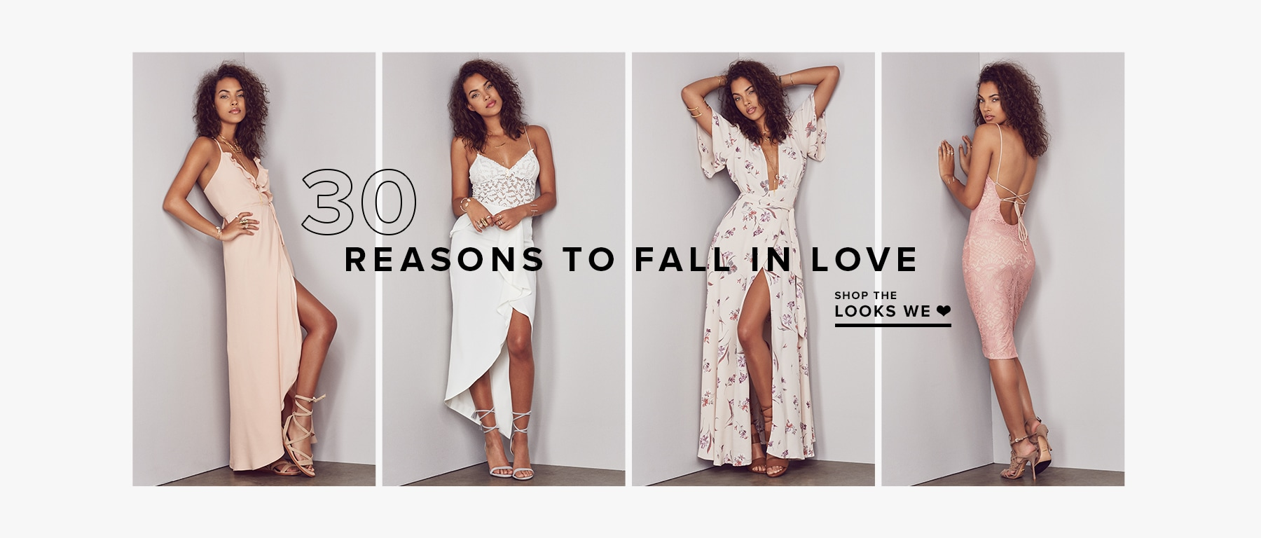 30 REASONS TO FALL IN LOVE
