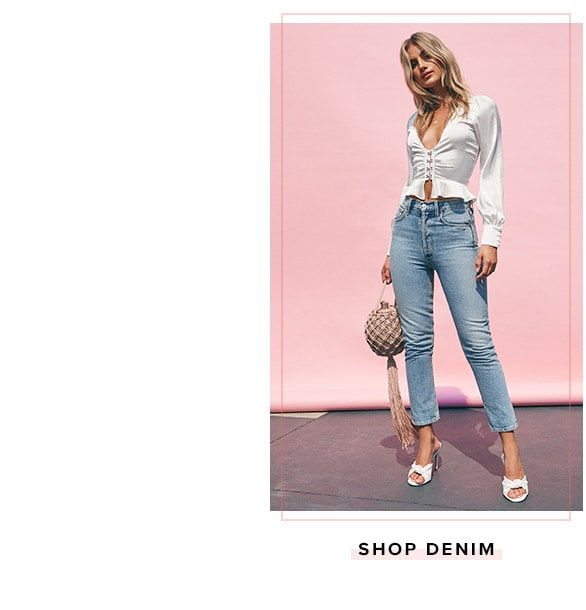 Shop Denim.