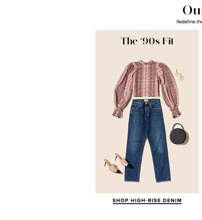 Our Go To Denim Guide: The 90s Fit. Shop High-Rise Denim