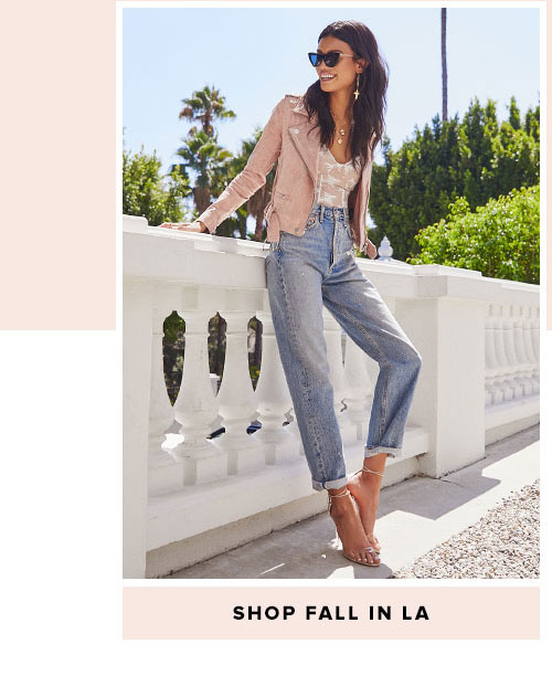 Fall Around the World. How to style yourself this season, whether you're chilling in LA or wandering the streets in Paris. Shop fall in LA.