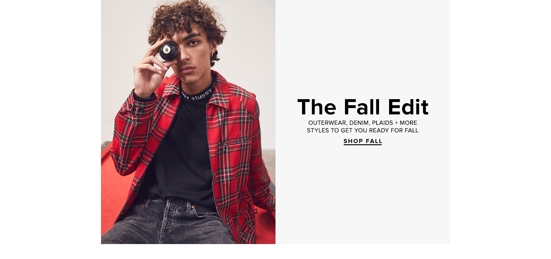The Fall Edit - Outerwear, denim, plaids + more styles to get you ready for fall - Shop fall