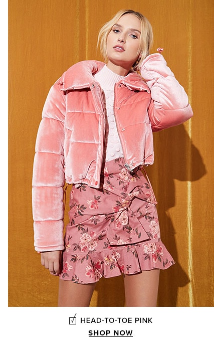 Head-to-Toe Pink - Shop Now