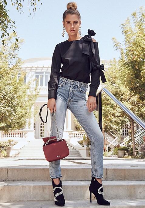 1db7123cb9 Karolina High-Rise Skinny Jean. Shop The Look
