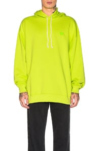Acne Studios Cottons FARRIN FACE HOODIE