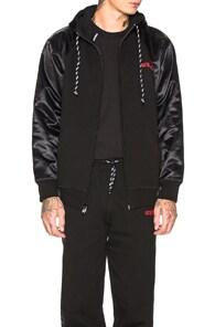 Adidas Originals By Alexander Wang ADIDAS BY ALEXANDER WANG HOODIE IN BLACK