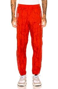 Adidas Originals By Alexander Wang ADIDAS BY ALEXANDER WANG ADIBREAK PANT IN RED