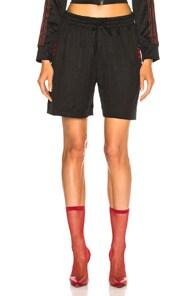 ADIDAS ORIGINALS BY ALEXANDER WANG Adidas By Alexander Wang Soccer Short In Black