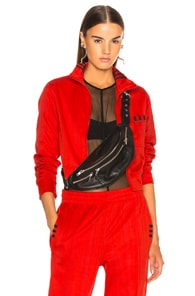 ADIDAS ORIGINALS BY ALEXANDER WANG Adidas By Alexander Wang Crop Track Jacket In Red