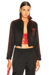 ADIDAS ORIGINALS BY ALEXANDER WANG Adidas By Alexander Wang Crop Track Jacket In Black