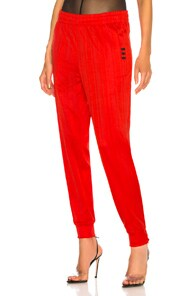 Adidas By Alexander Wang Track Pant In Red