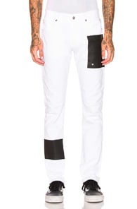 ALYX 1017 Alyx 9Sm Patched Leg Trousers - White