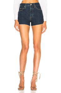 Amo AMO ROSEBOWL SHORT IN BLUE