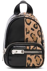 Attica Soft Mini Backpack Cross Body Bag, Brown