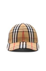 Burberry Checked Cotton-Canvas Baseball Cap In Neutrals  e8da70e57c
