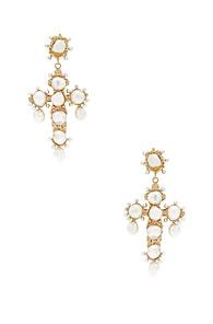 CHRISTIE NICOLAIDES Christie Nicolaides Celestina Earrings In Metallic Gold