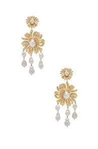 CHRISTIE NICOLAIDES Christie Nicolaides Chloe Earrings In Metallic Gold
