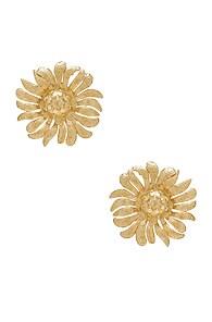CHRISTIE NICOLAIDES Christie Nicolaides Margarite Earrings In Metallic