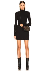 Cotton Citizen COTTON CITIZEN IBIZA MINI DRESS IN BLACK