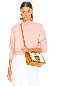 Milan Light Pink Cotton Sweatshirt
