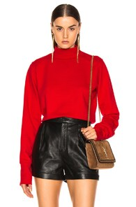 Cotton Citizen COTTON CITIZEN MILAN SWEATSHIRT IN RED