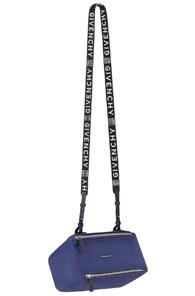 Mini Pandora Nylon Shoulder Bag - Blue