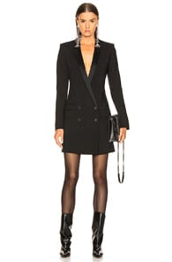 Haider Ackermann DOUBLE BREASTED BLAZER DRESS