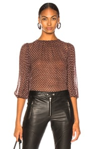 Icons ICONS FEMME BLOUSE IN RED