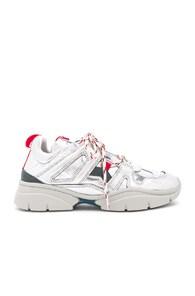 Kindsay Metallic Leather Sneakers