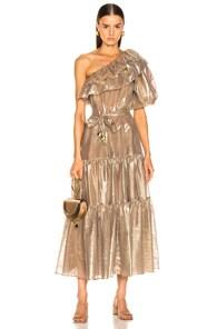 Lisa Marie Fernandez Arden Double Ruffle Dress