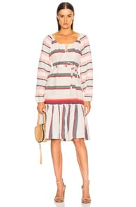 Lemlem LEMLEM NAOMI BOHO DRESS IN MULTI